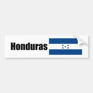 Honduras, Hondurian flag Bumper Sticker