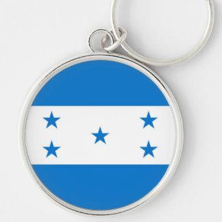 HONDURAS Silver-Colored ROUND KEY RING