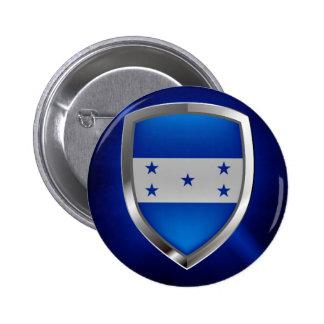 Honduras Metallic Emblem 6 Cm Round Badge