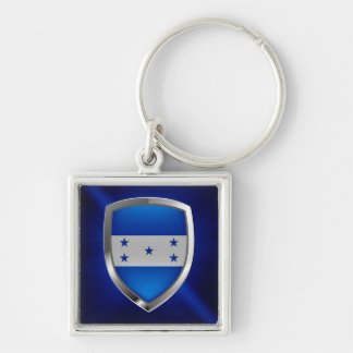 Honduras Metallic Emblem Key Ring