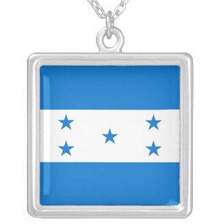 HONDURAS SQUARE PENDANT NECKLACE