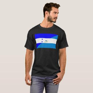honduras nicaragua country half flag T-Shirt