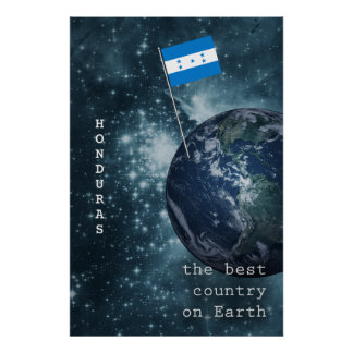 Honduras Out Of This World Poster