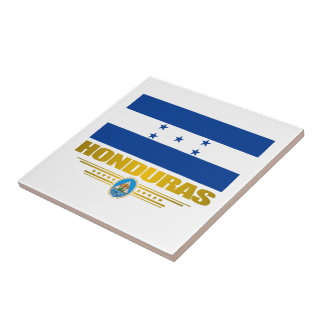 """Honduras Pride"" Ceramic Tle Tile"