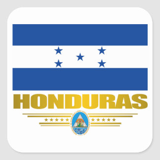 """Honduras Pride"" Square Sticker"