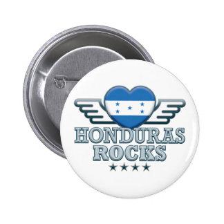 Honduras Rocks v2 Pinback Buttons