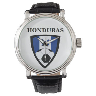 Honduras Soccer Wrist Watch