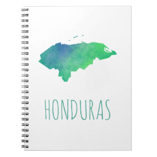 Honduras Spiral Notebook