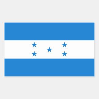 HONDURAS RECTANGULAR STICKER