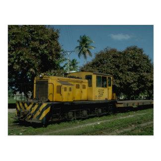 Honduras, Tele RR Plymouth diesel Postcard
