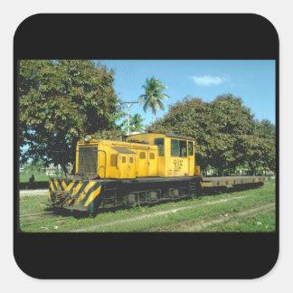 Honduras, Tele RR_Trains of the World Square Sticker