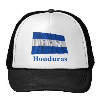 Honduras Waving Flag with Name Cap