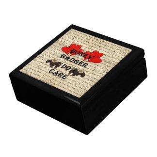 Hone badger do care large square gift box