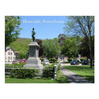 Honesdale, PA Postcard