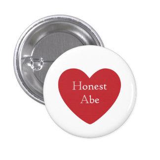 Honest Abe 3 Cm Round Badge