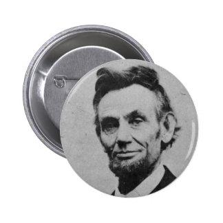 Honest Abe 6 Cm Round Badge