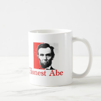 """Honest Abe"" Abe Lincoln Art T-Shirt & Gifts Coffee Mug"