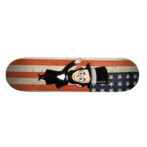 Honest Abe and Faded Glory Skate Board Deck
