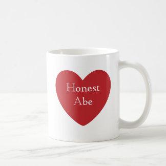 Honest Abe Basic White Mug