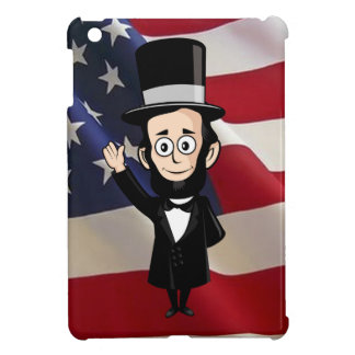 Honest Abe Lincoln and Old Glory Cover For The iPad Mini