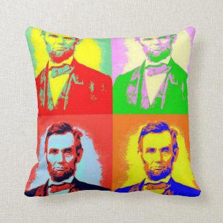 Honest Abe Lincoln Pop art Pillow Cushions