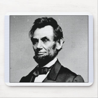 HONEST ABE MOUSE PAD