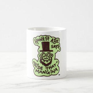 ''Honest Abe'' Basic White Mug
