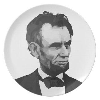 Honest Abe Plate