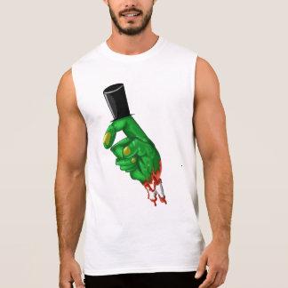 Honest abe zombie lincoln finger t shirt