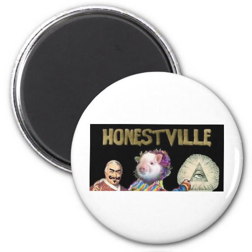 Honestville Icon 2.0 Refrigerator Magnet