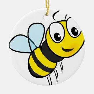 honey art fly ceramic ornament
