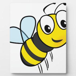 honey art fly plaque