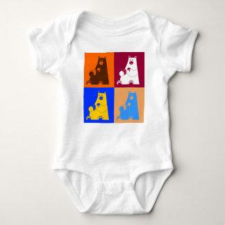 Honey B square Baby Bodysuit