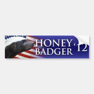 Honey Badger 2012 Bumper Sticker