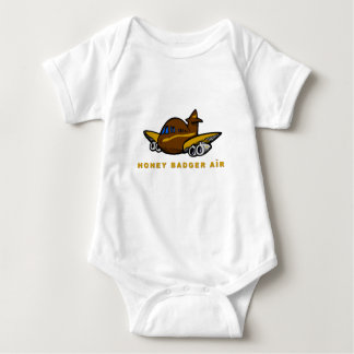 honey badger air baby bodysuit
