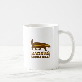 Honey Badger - Badass Cobra Killa Coffee Mug