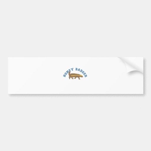 honey badger bumper stickers