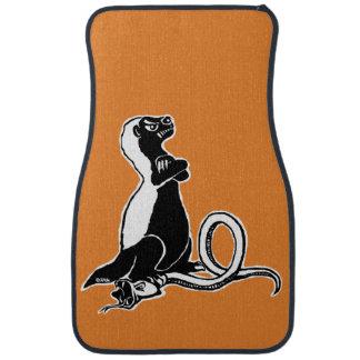 Honey badger car mat
