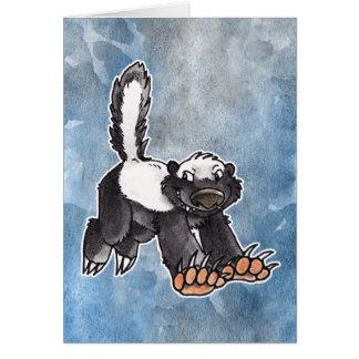 Honey Badger Card