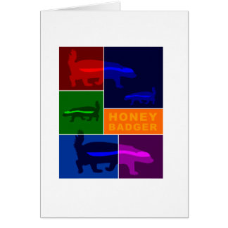 honey badger cards