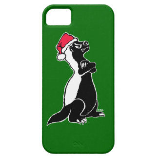 Honey badger Christmas iPhone 5 Covers