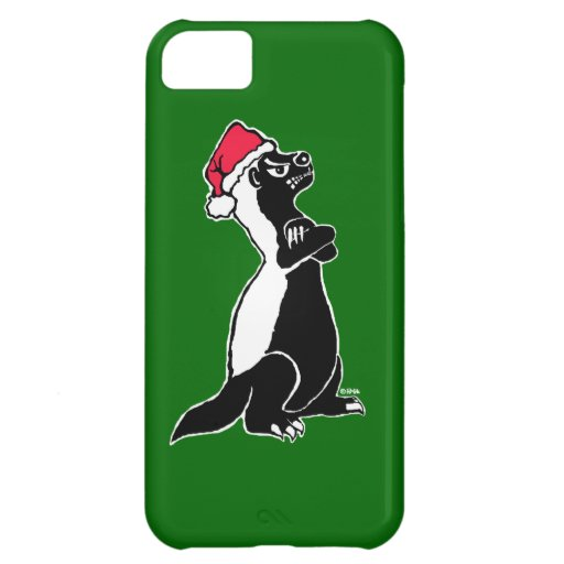 Honey badger Christmas iPhone 5C Cover