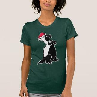 Honey badger Christmas T-Shirt