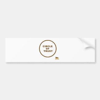 honey badger circle of trust bumper stickers