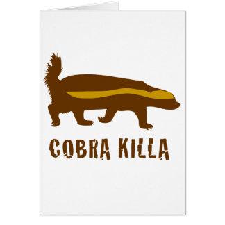 honey badger cobra killa cards
