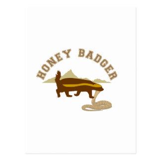 honey badger cobra killa post cards