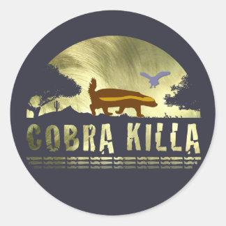 Honey Badger Cobra Killa Sticker