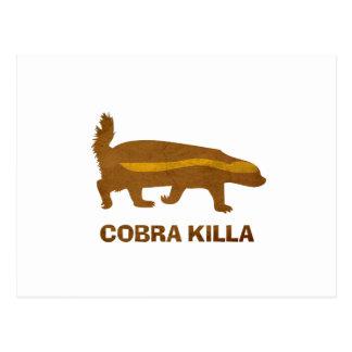 Honey Badger Cobra Killa Vintage Post Cards