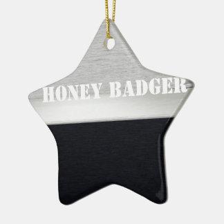 Honey badger ornament