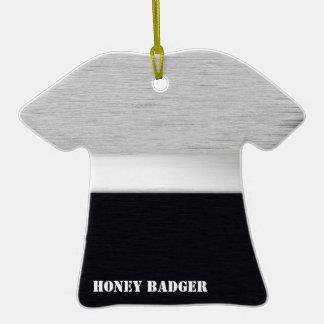 Honey badger christmas ornaments